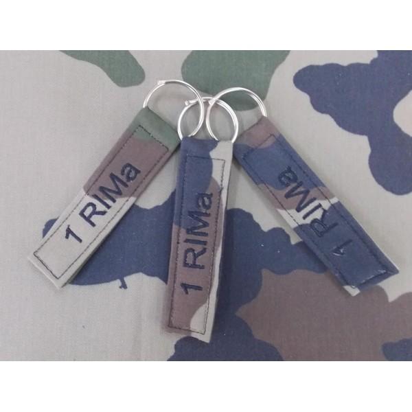 Bande OPEX cam OTAN pour sac avec broderie des deux côtés (VENDU PAR 3)