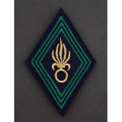 Losange Légion Étrangère Infanterie sous-officiers / Officiers (VENDU PAR DEUX)
