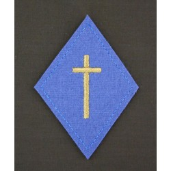 Losange Aumônier Catholique et Protestant Laïc (VENDU PAR 2)