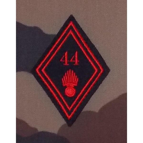 Losange 44 Régiment d'Infanterie Troupes (VENDU PAR DEUX)