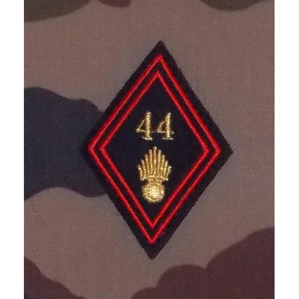 Losange 44 Régiment d'Infanterie Sous-officiers / Officiers (VENDU PAR DEUX)