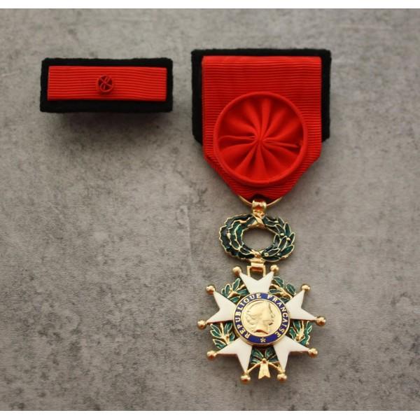 Médaille Légion d'honneur Officier avec barrette