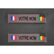 Bande Patro OTAN CE et Sable avec Drapeau France / Pays d'Afrique (17)